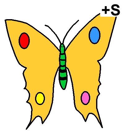Pictograma de MARIPOSAS